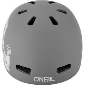 O'Neal Dirt Lid ZF Helm Bones gray
